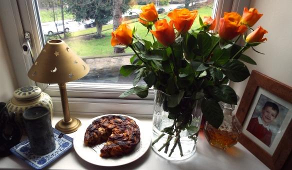 Danish Apple and Prune Cake